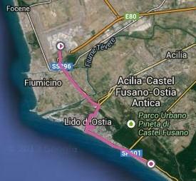 Aeroport - Camping Ostia