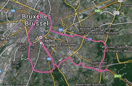 30 km de bruxelles