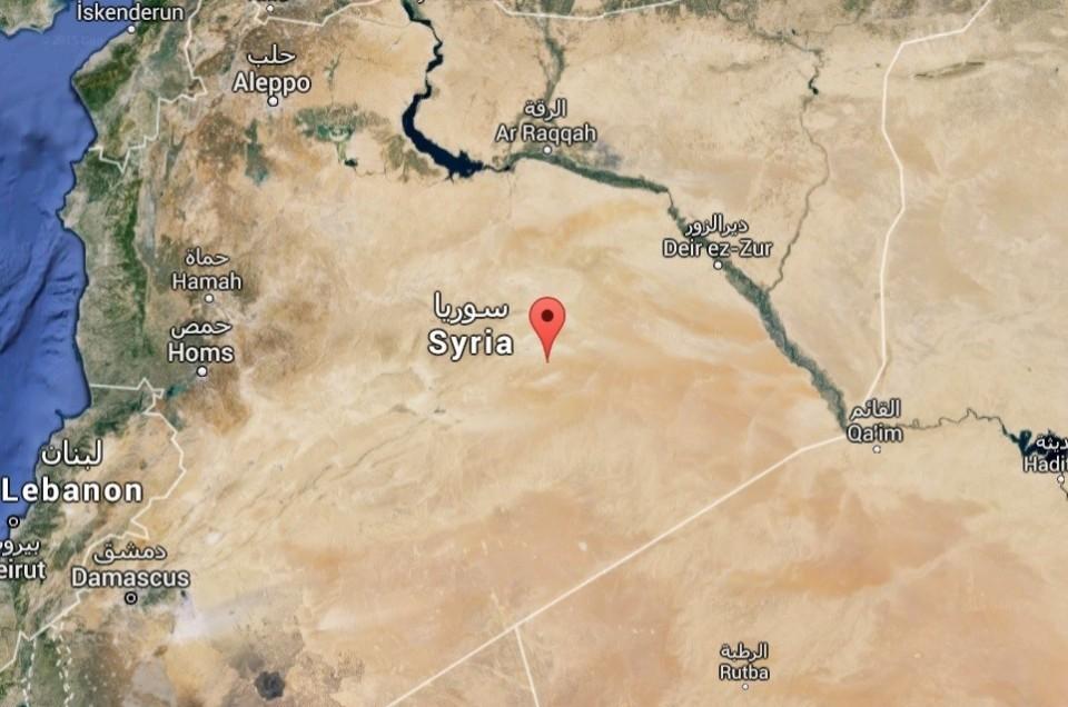 Syrie-googlemap