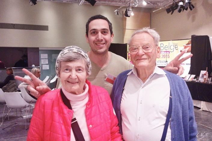 Mes plus vieux lecteurs! 99 ans! Leur secret? :)