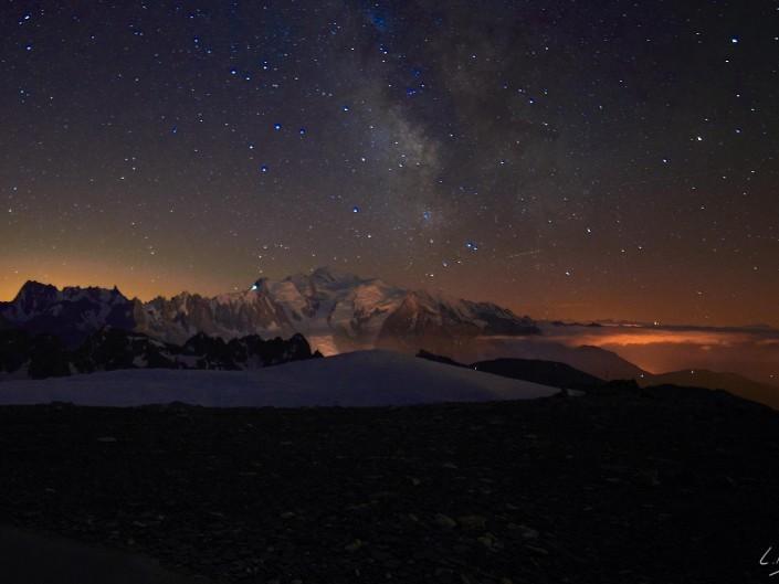 Nuit sur le mont Buet