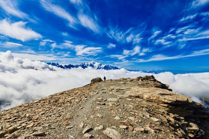 Ascension avec ma maman sur le mont Buet