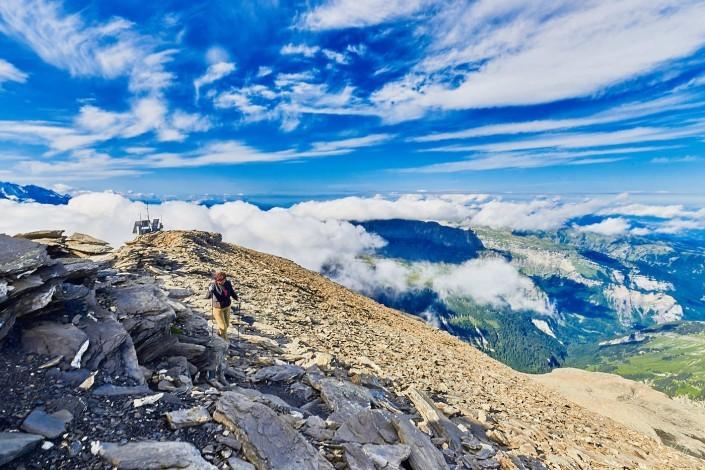 0010- Mont Buet avec maman 2017- 15 mm – A18 –