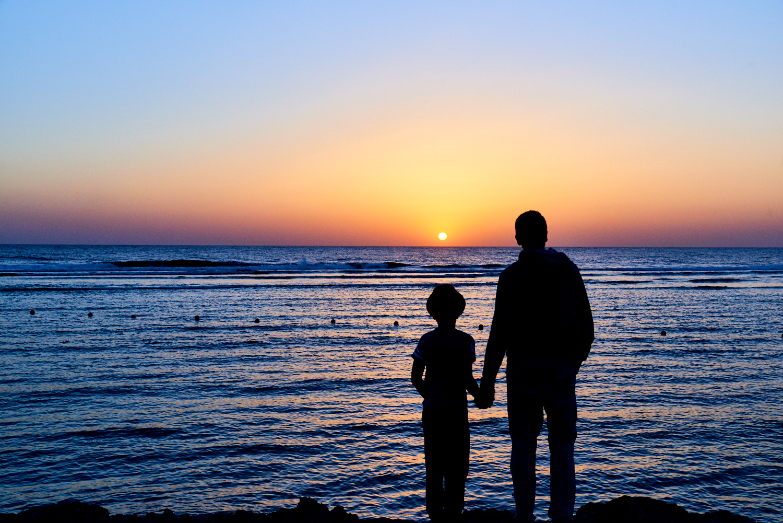 Développement personnel - père et fils - mer - liberté